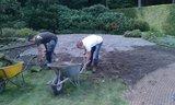 Gazon verwijderen en nieuwe graszoden leggen_