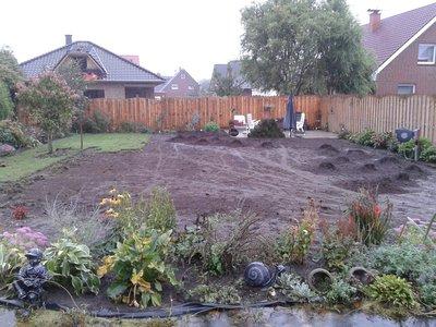 Oud gras verwijderen